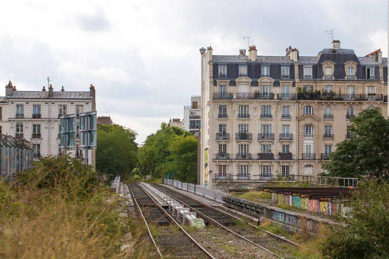 Perspective sur le Pont de l'Avenue de Vincennes. Photo : Jean-Nicolas Lehec