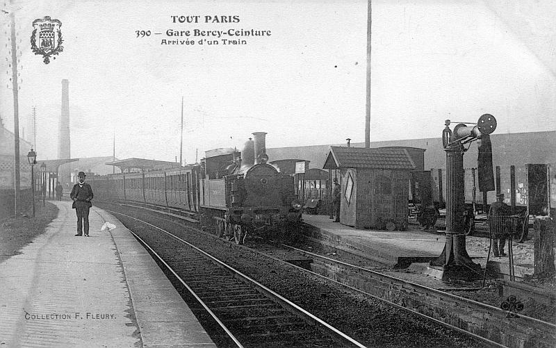Ouverture du service voyageur entre l'Avenue de Clichy et la Râpée-Bercy