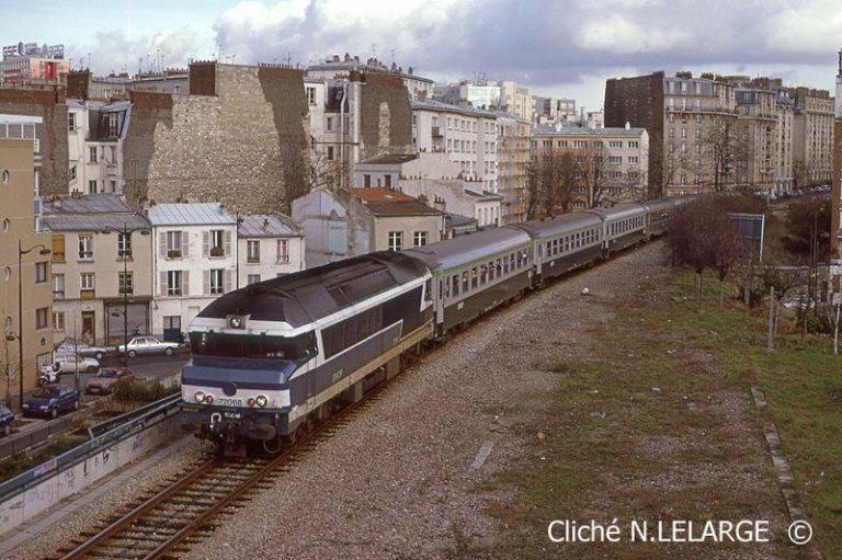 Train spécial Gare de l'Avenue de Clichy