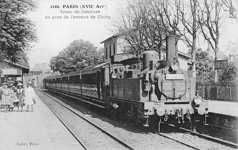 Locomotive avenue de CLichy