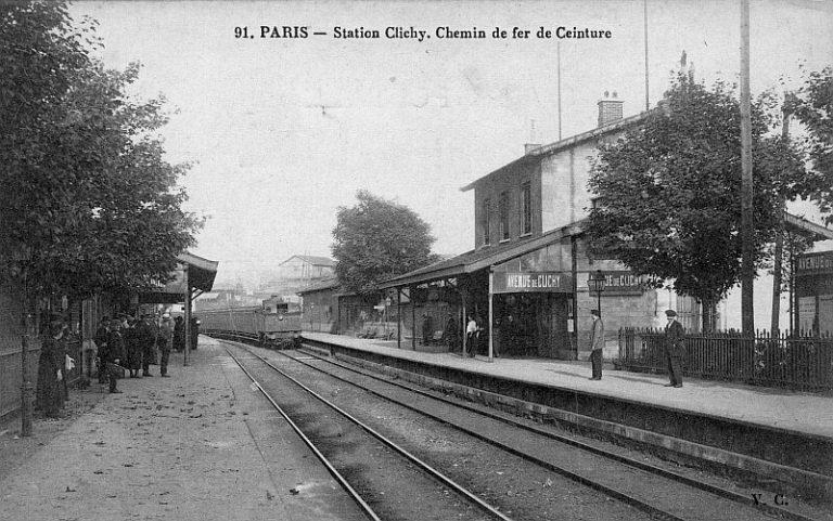Gare de l'Avenue de Clichy