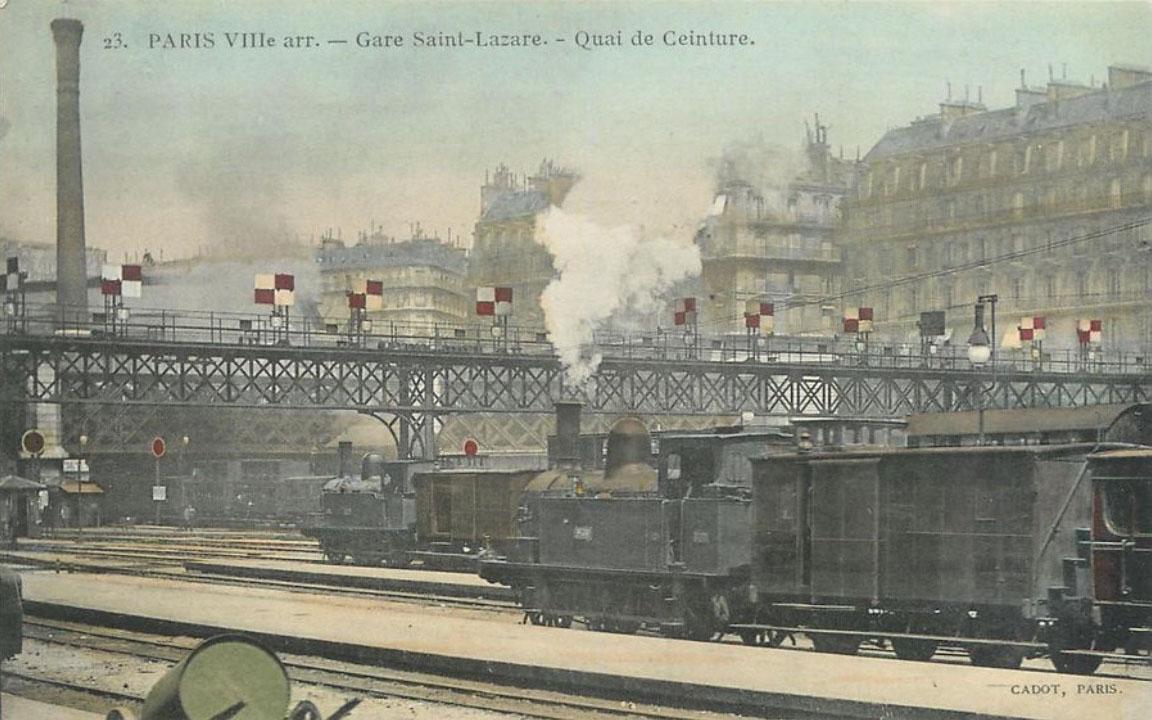 Ouverture de la ligne d'Auteuil