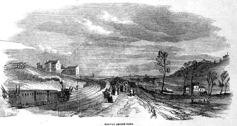 Ouverture de la première section entre Batignolles et la Chapelle