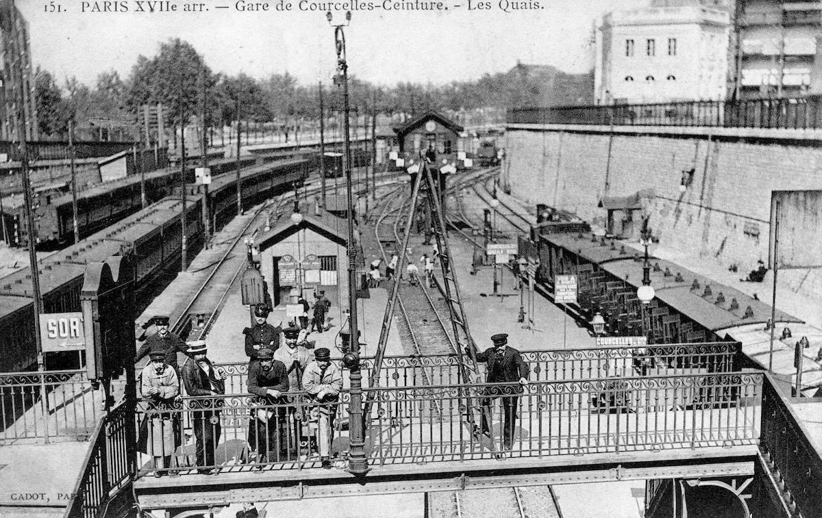 Ouverture du raccordement de Courcelles et de la station Courcelles-Ceinture : la boucle est bouclée