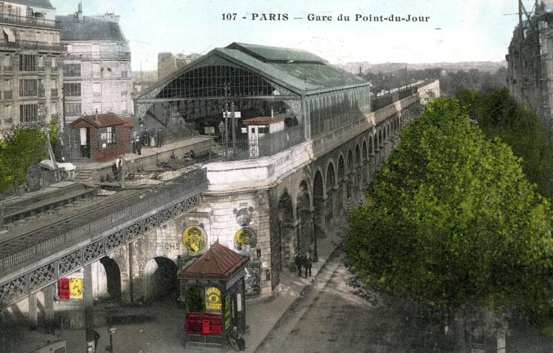 Ouverture de la section Sud de la Petite Ceinture et raccordement avec la ligne d'Auteuil