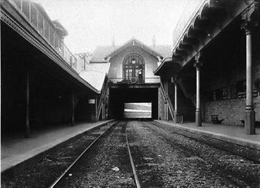 Petite Ceinture - Gare de l'Avenue de SAINT-OUEN