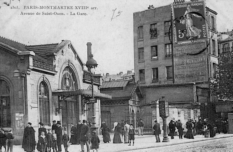 Gare de l'Avenue de SAINT-OUEN