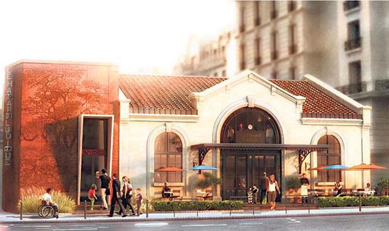 Hasard Ludique Gare de l'Avenue de SAINT-OUEN