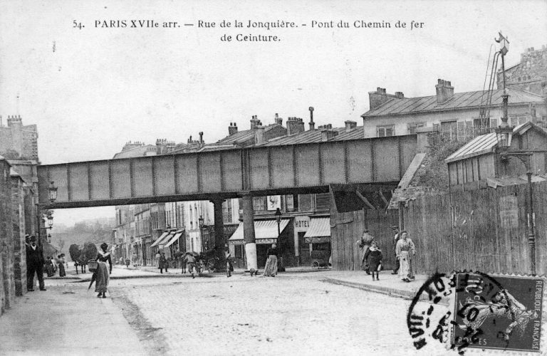 Pont de la rue Joncquière