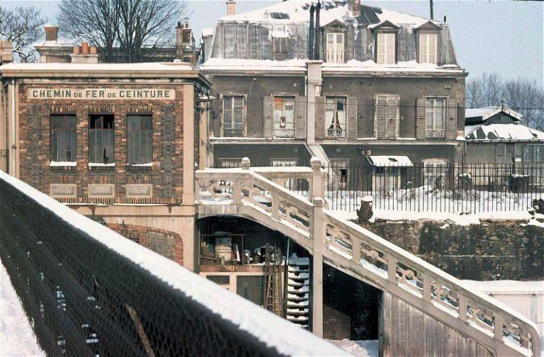 Est-Ceinture accès rue d'Aubervilliers Petite Ceinture