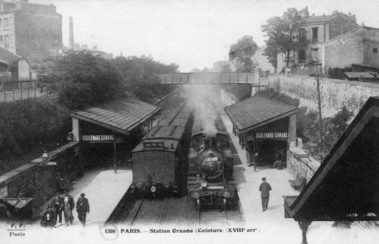 Gare du Boulevard Ornano