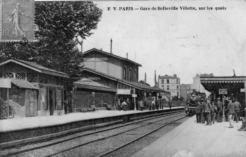 Belleville-Villette Petite Ceinture