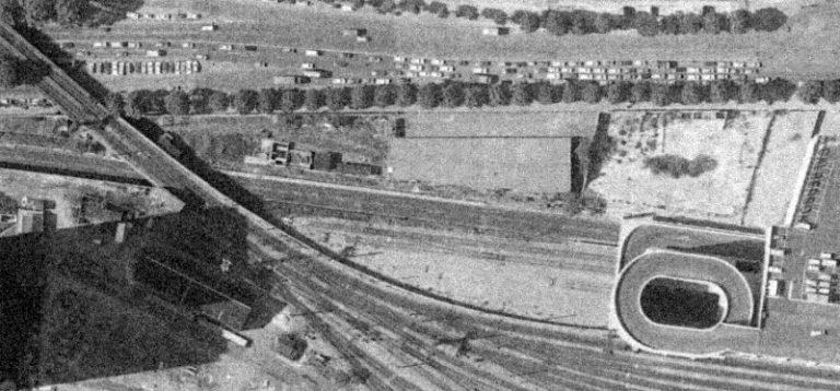 Chapelle Charbon emplacement dépôt locomotives Petite Ceinture 1977