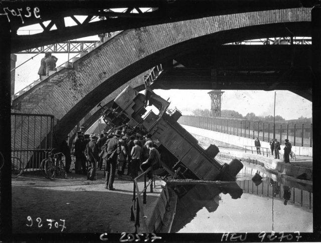 Paris Bestiaux locomotive canal de l'Ourcq Petite Ceunture