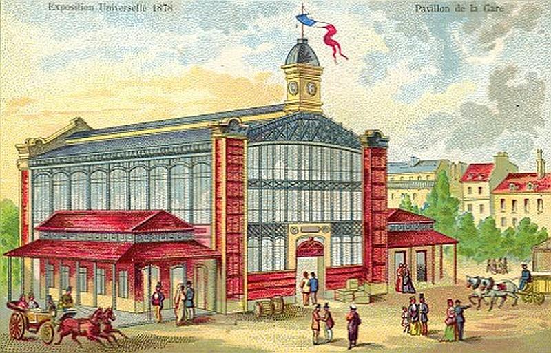 Reconstruction du raccordement de Grenelle et de la gare du Champ de Mars pour l'Exposition universelle