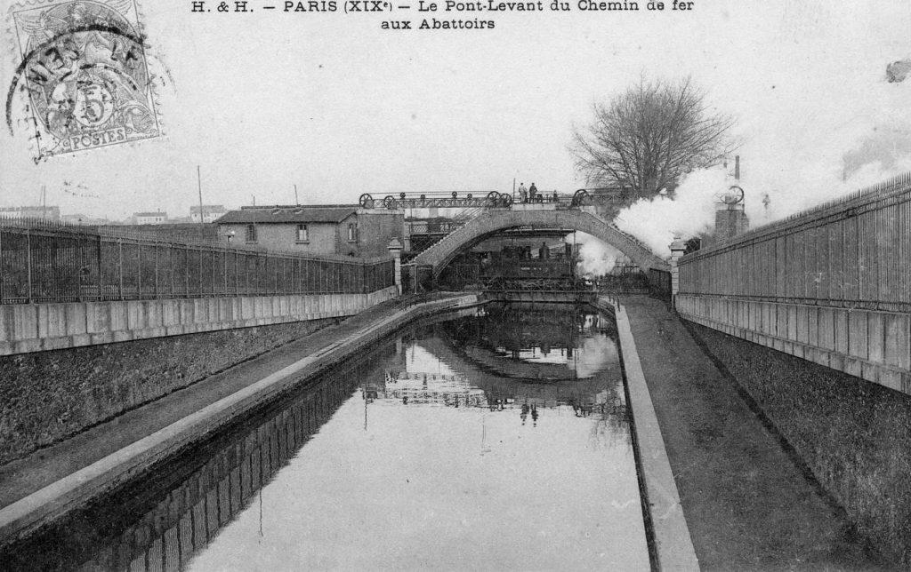 Paris Bestiaux pont levant Petite Ceinture