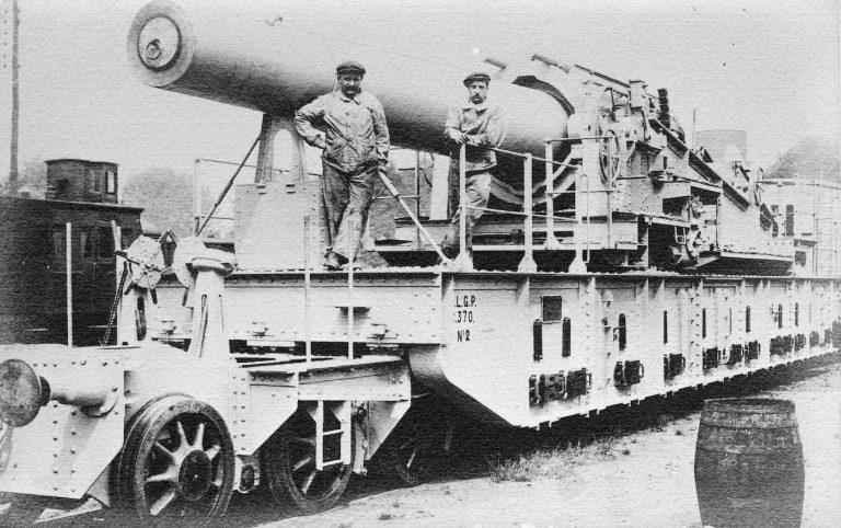Canon de Marine Gouin de la Première Guerre mondiale
