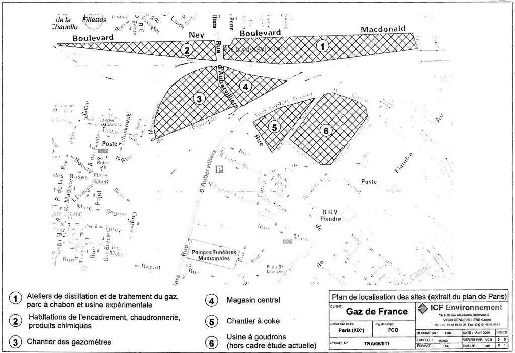 Chapelle Charbon usine à gaz de la Villette