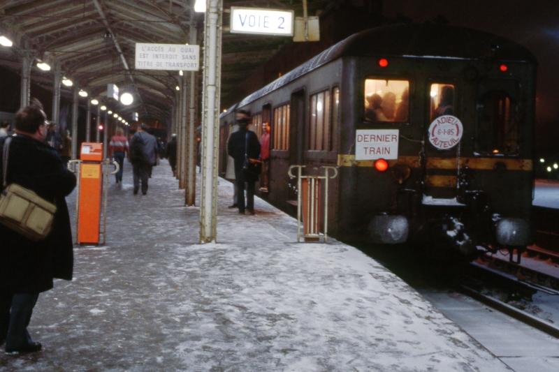 Fin du service voyageur sur la ligne d'Auteuil