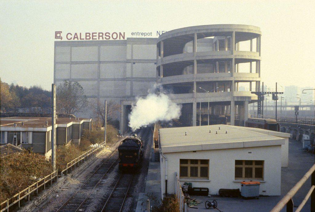 Petite Ceinture Chapelle Charbon novembre 1983