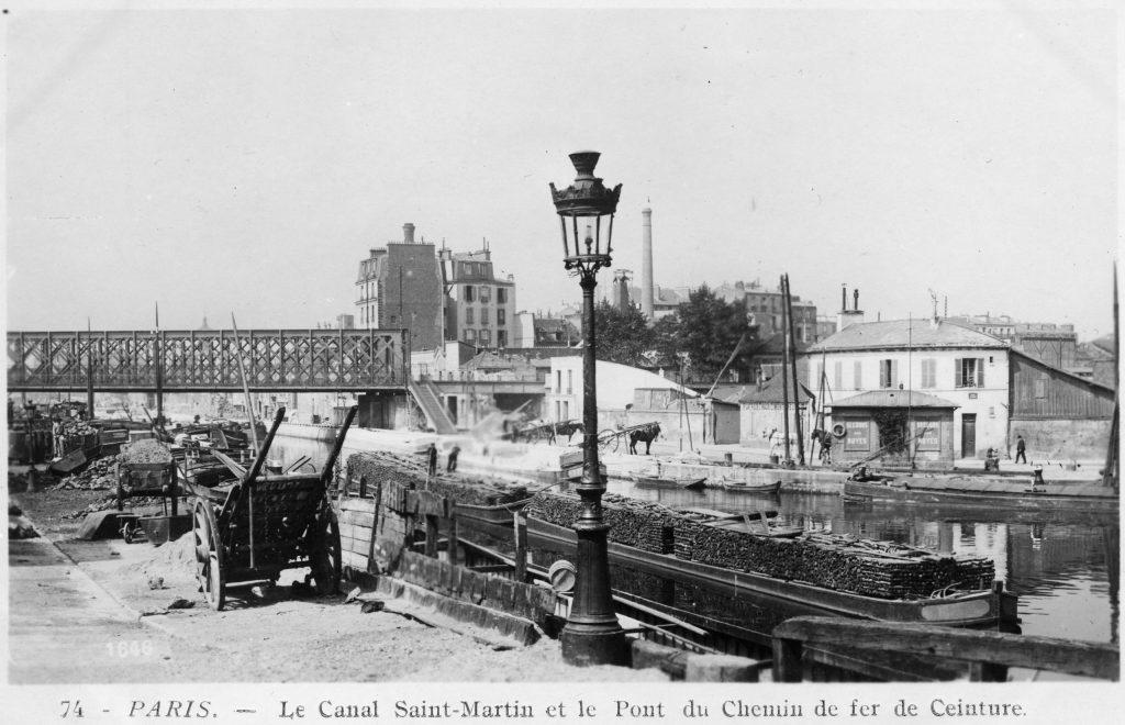 Petite Ceinture Pont Craqueur Canal de l'Ourcq