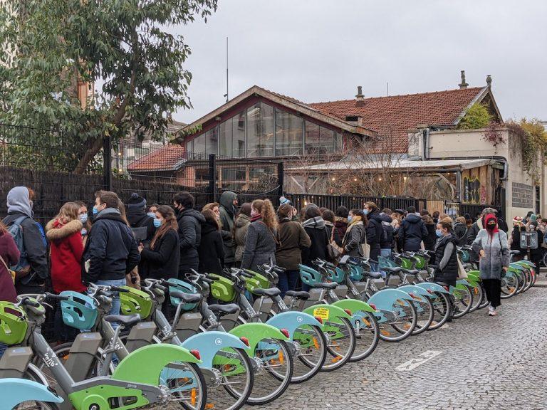 Recyclerie gare Boulevard Ornano Marché de Noel 2020 Jean-Nicolas Lehec copie
