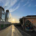 Un nouveau pont-rail pour la Petite Ceinture ferroviaire au niveau de l'Avenue de France