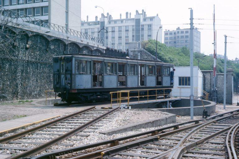 Charonne Petite Ceinture métro