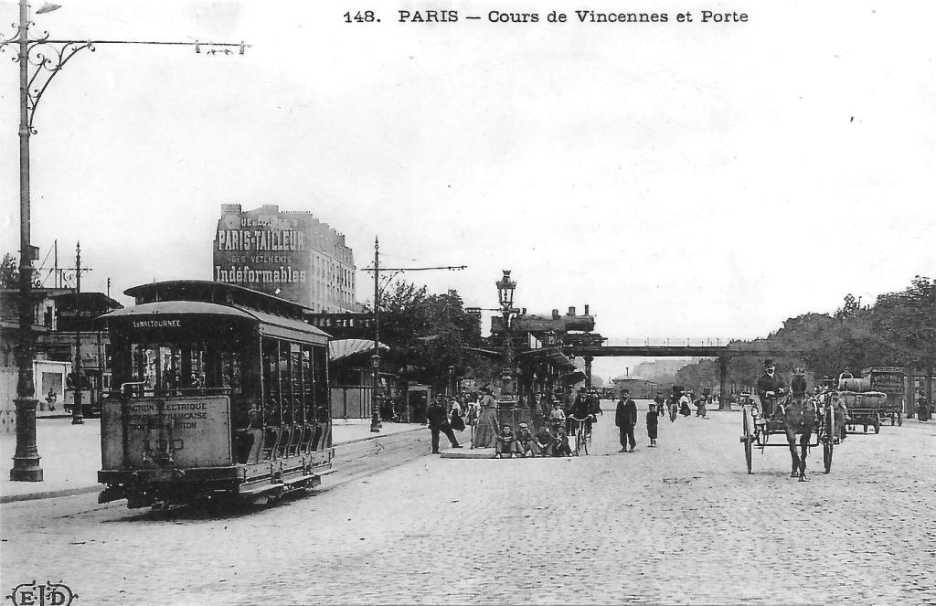 Avenue de Vincennes Petite Ceinture
