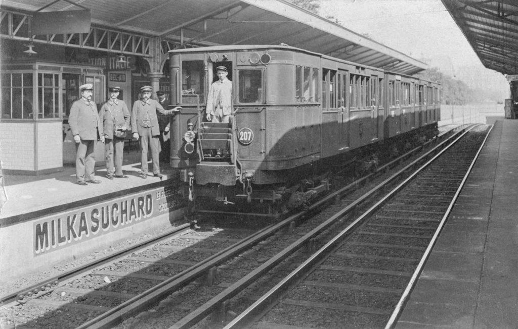 Station Bel Air ligne 6 1909