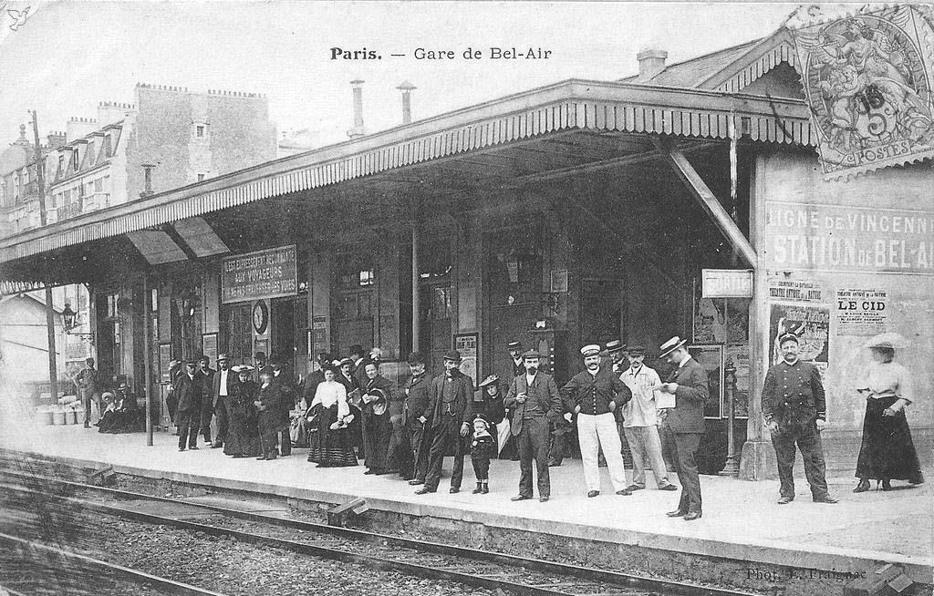 Gare Bel Air Vincennes Bel-Air-Ceinture
