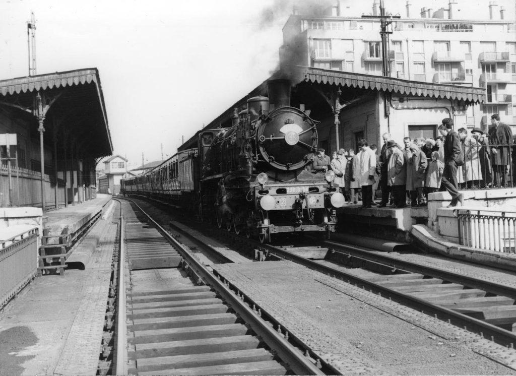 Train spécial 1966 Avenue de Vincennes Petite Ceinture