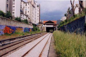 Mai 2000, voie nouvelle et anti-vibratile, Porte de Clignancourt
