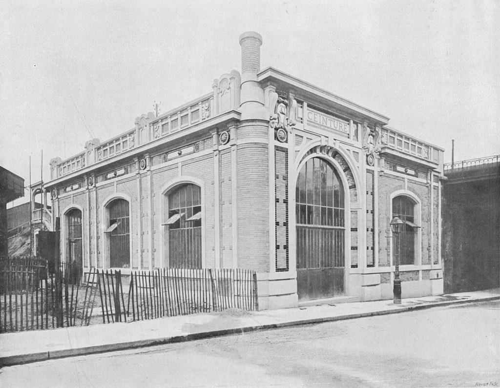 Extérieur gare rue Claude Decaen Petite Ceinture