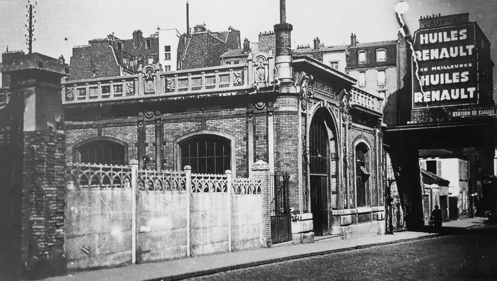 Extérieur-gare-rue-Claude-Decaen-vers-1930