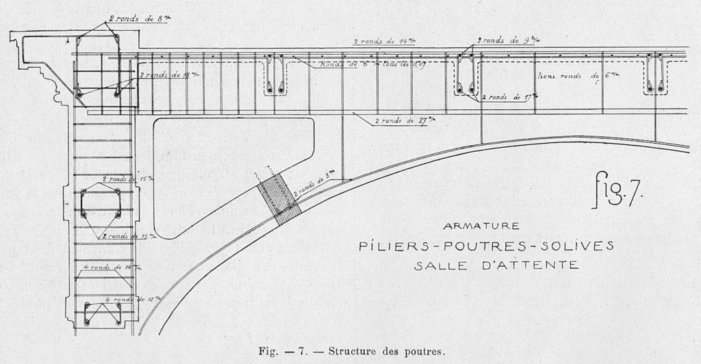 Plan de coupe plafond BV Claude Decaen