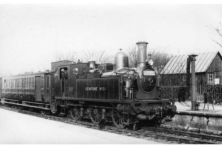 Petite Ceinture gare Vaugirard Locomotive