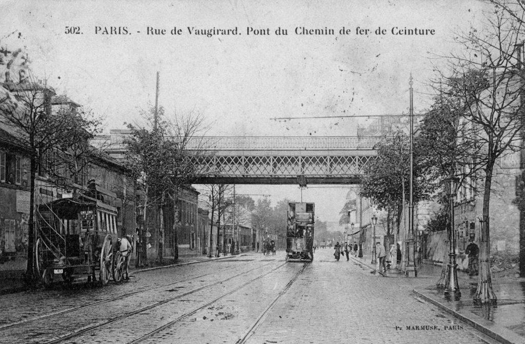 Gare de Vaugirard Petite Ceinture Paris
