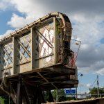 CDG Express : les ponts du raccordement de l'Évangile démontés